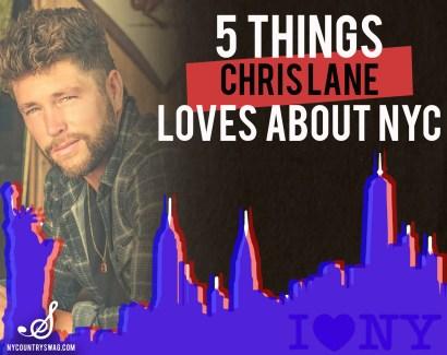 I Love New York - Chris Lane