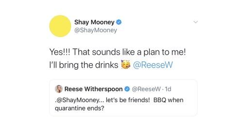 Reese Witherspoon Shay Mooney Kelsea Ballerini Tweets