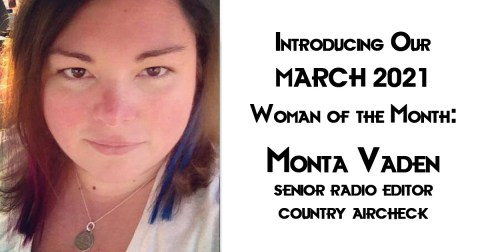 March 2021 Woman of the Month: Monta Vaden