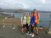 Hiked to the top of Bartolome Island
