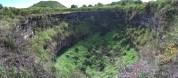 Twin Craters on Santa Cruz Island