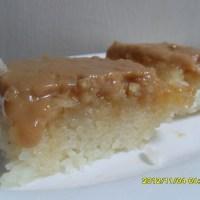 bibingkang malagkit or sticky rice