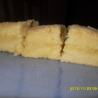 Inipit(pressed sponge cake)