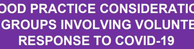Community Response to COVID-19