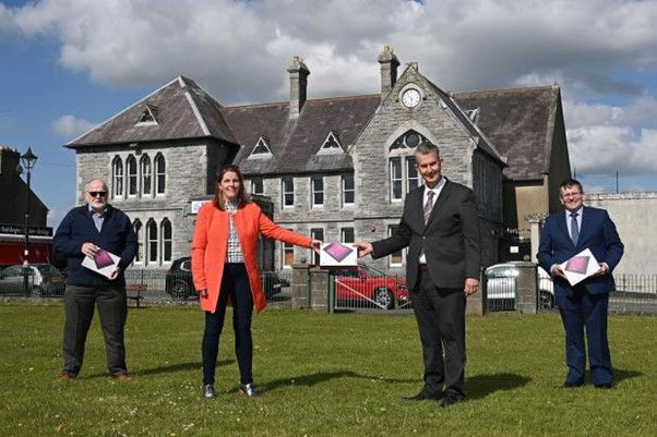 Minister Poots visits rural community organisations