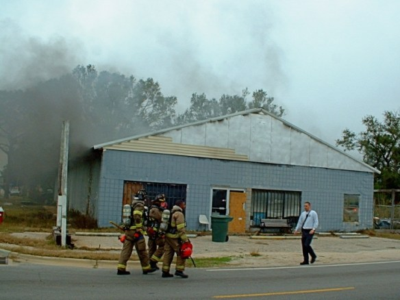 Commercial Building Fires