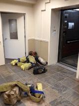 High Rise Equipment on Floor