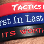 It's Worth The Risk Wrist Band