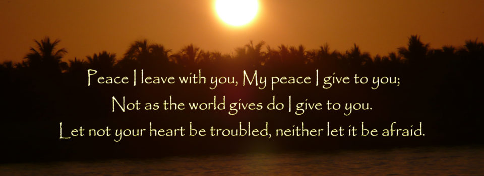 Image result for peace I give you