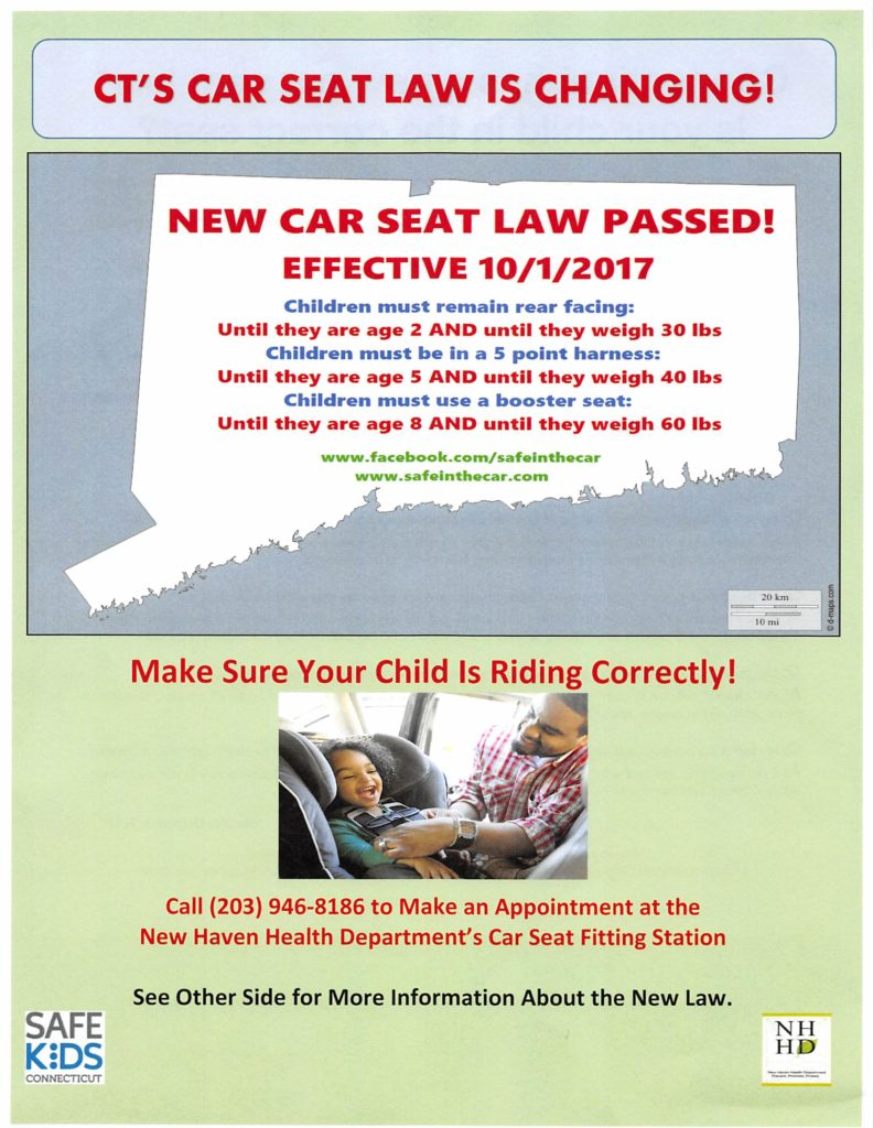 California Law About Car Seat