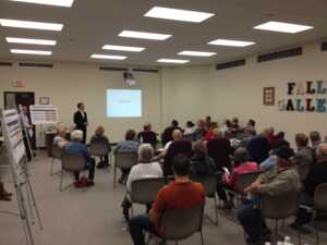 photo of Olmsted Falls public meeting