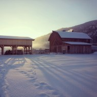 2.22 sunrise barn and equipment shed