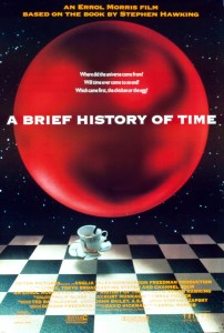 The movie poster for A Brief History of Time
