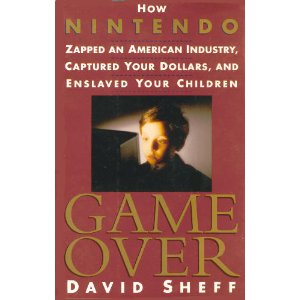"Cover art for ""Game Over"" by David Sheff - 1st Edition"