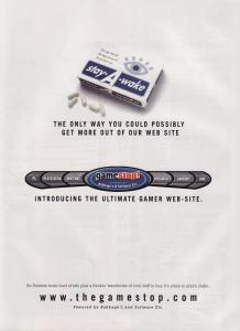 The first GameStop ad in EGM