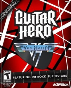 Guitar Hero: Van Halen Box Art