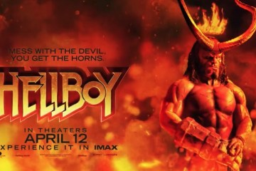 Banner-style poster for Hellboy (2019)