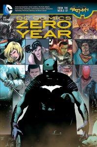 DC Comics: Zero Year Cover