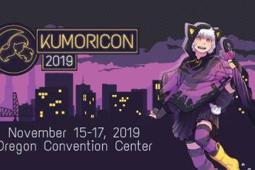 Kumoricon 2019 Mascot and Dates
