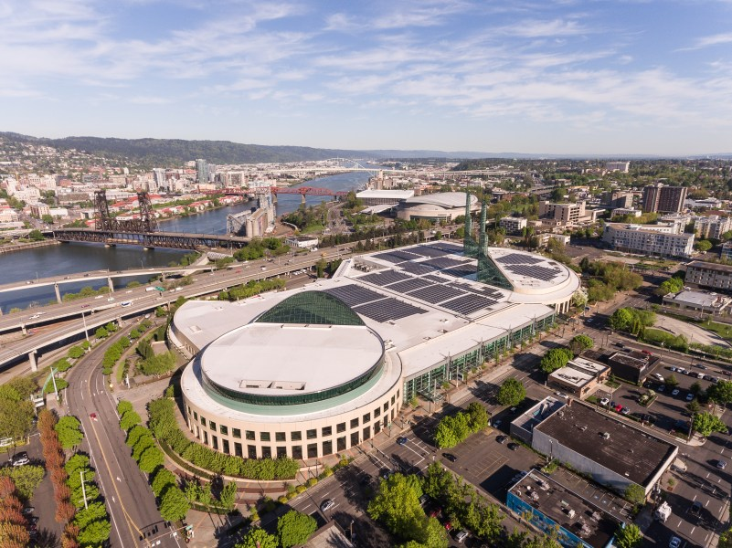 Aerial Shot of the Oregon Convention Center (from Wikipedia)