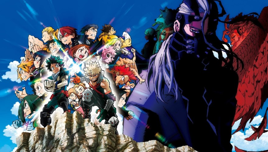 Movie poster for My Hero Academia: Heroes Rising