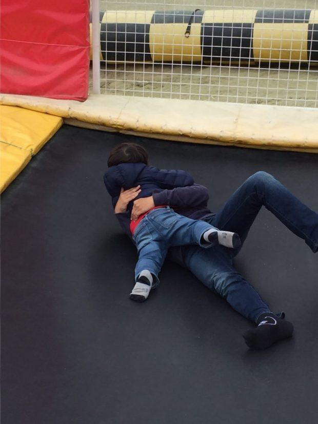 trampolie