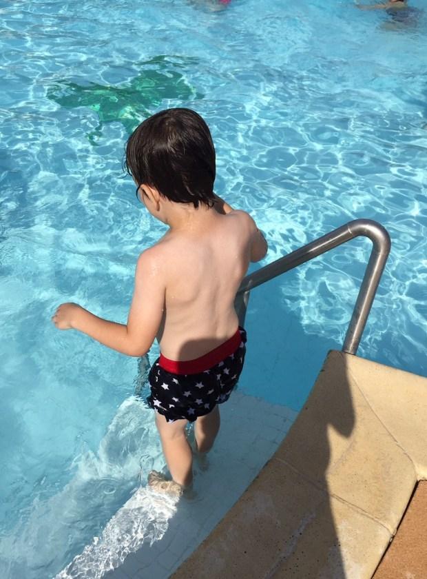 piscine juillet