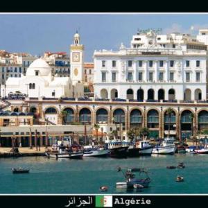 Port d'Alger, image tirée du carousel du site web 2008-2014 de Coup de soleil