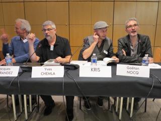 pour l'Algérie en bulles: Ferrandez, Chemla, Kris, Nocq