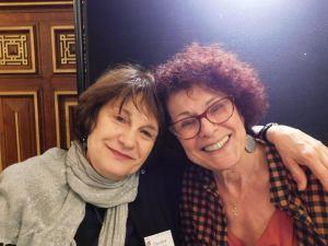 Claudine Nissou et Micheline Kouas sont venues de Toulouse pour l'organisation du Maghreb des livres 2017