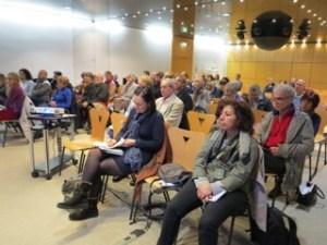 Salle Lacoste, le public