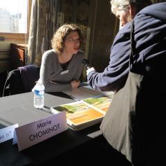 Marie Chominot en signature