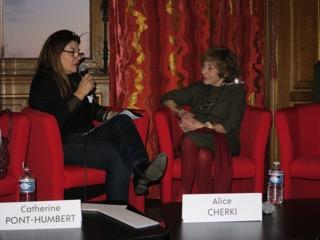 Alice Cherki en entretien avec Catherine Dupont-Humbert