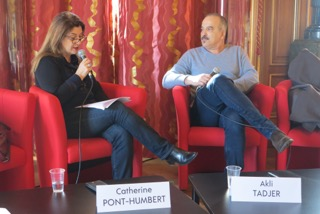 Akli Tadjer en entretien avec Catherine Dupont Humbert