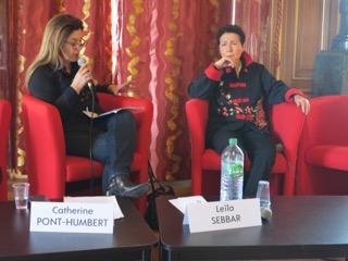Leïla Sebbar en entretien avec Catherine Dupont-Humbert