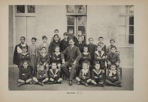 """la part des """"indigènes"""" dans une classe primaire (Mostaganem, années 1920 (?)"""