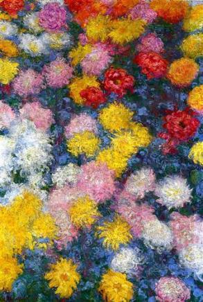 Monet, Chrysanthemums 1897