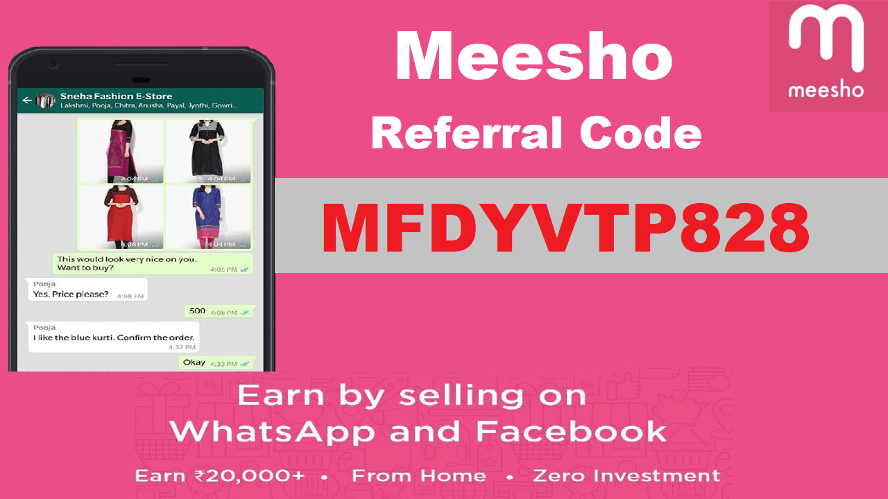 Meesho Referral Code Get Rs 200 OFF + Refer and Earn Real Money