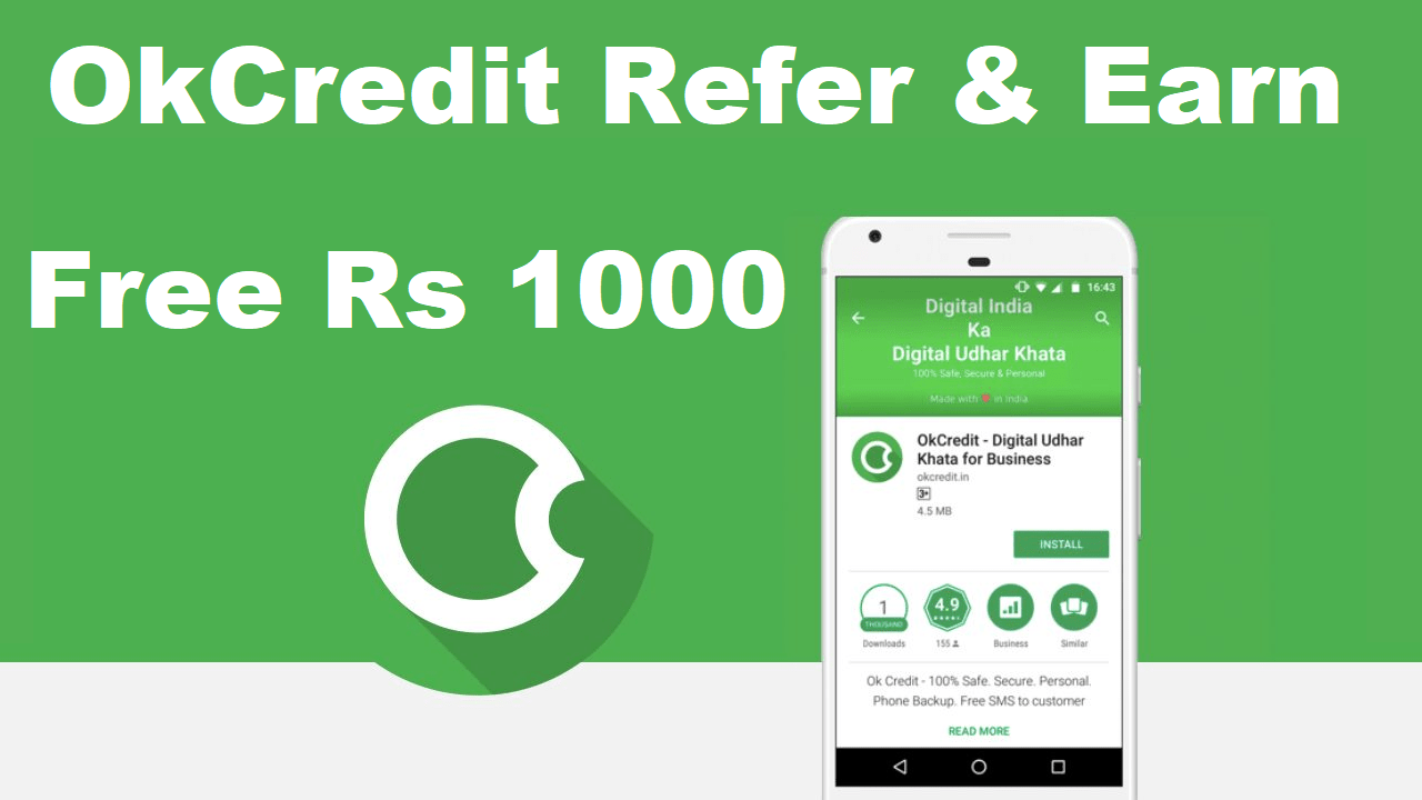 Download APK OkCredit Referral Code Earn Free Refer & Earn