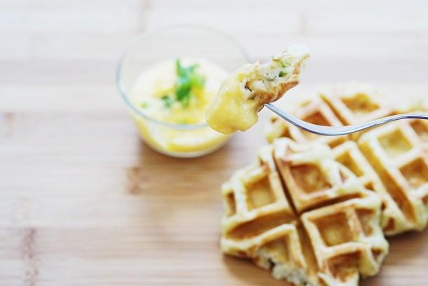 Potato waffles 2