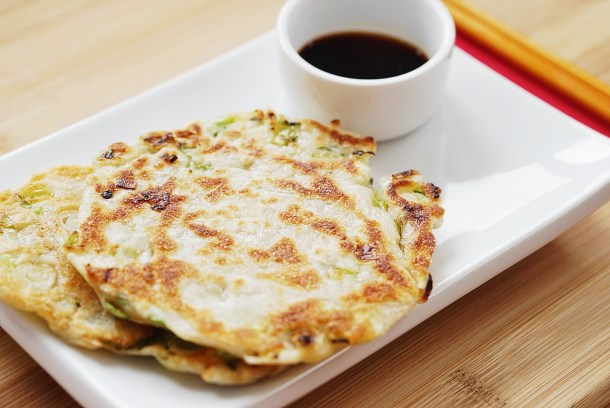 Scallion pancakes 3