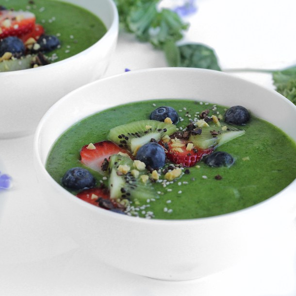 Green Smoothie Bowl 3