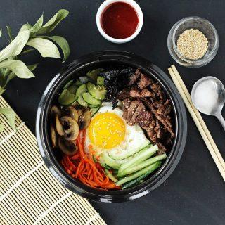 Beef & Vegetable Bibimbap Recipe