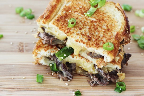 Korean Bulgogi Grilled Cheese 2
