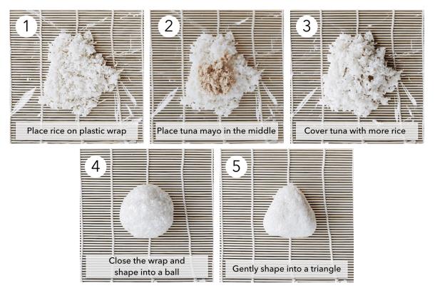 How to make nigiri japanese rice balls