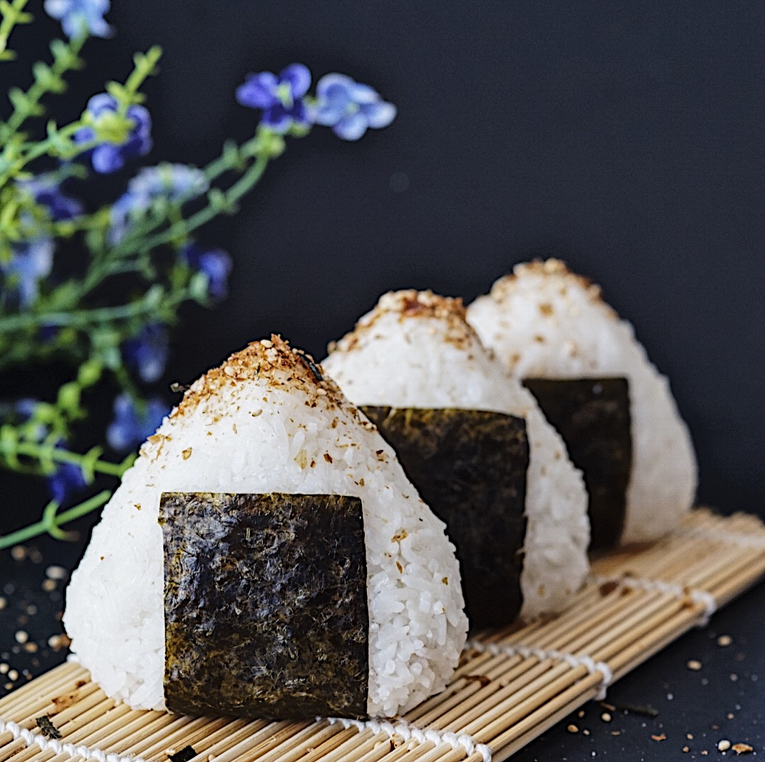 Tuna Mayo Onigiri (Japanese Rice Balls)