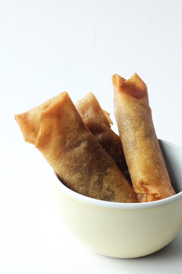 Apple Pie Spring Roll Recipe