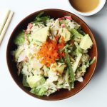 Avocado Crab Salad with Asian Sesame Dressing Recipe