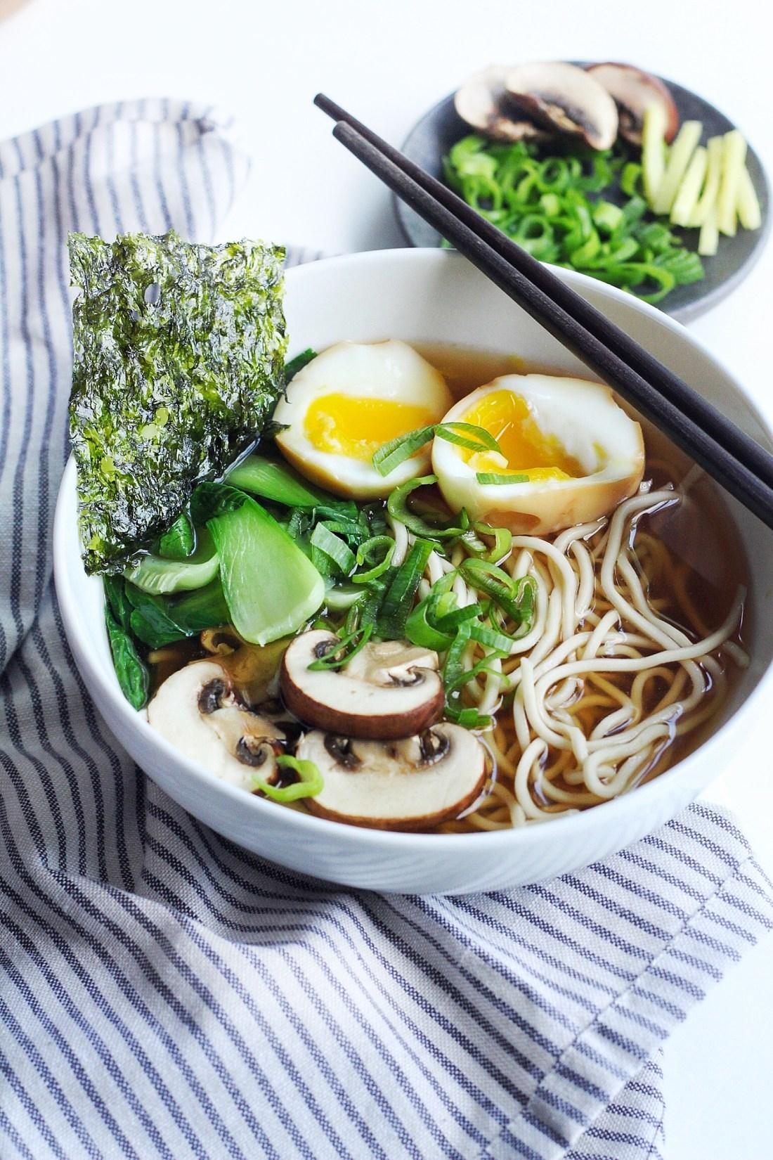Easy & Light Shoyu Ramen Soup Recipe