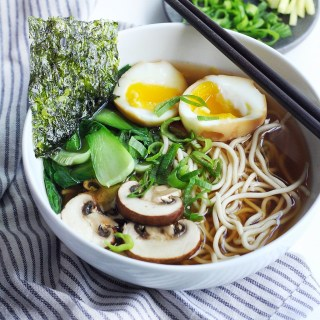 Easy & Light Shoyu Ramen Soup Recipe